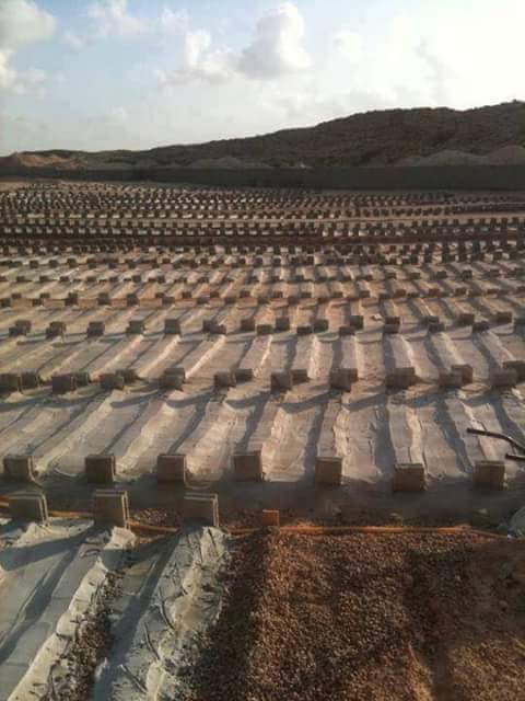 Misurata Graves of innocents killed by Misurata terrorist Militias