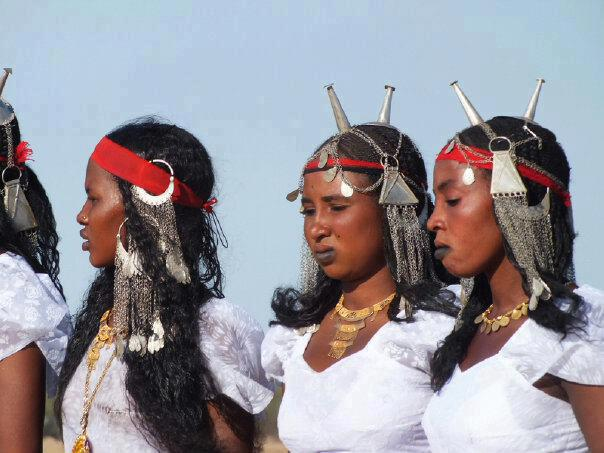 Beautiful Toubou ladies